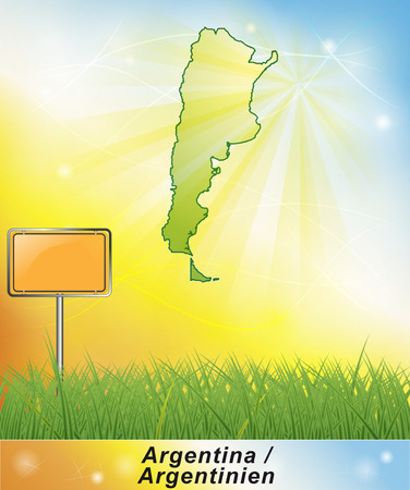 argentina map: Map of Argentina