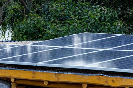 photovoltaic system Foto de archivo