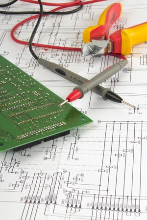 electronically: Electronic tool