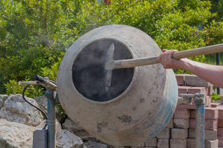 botched: Mixing concrete