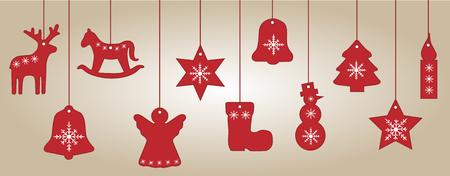 lighting fixtures: Festive tree decorations