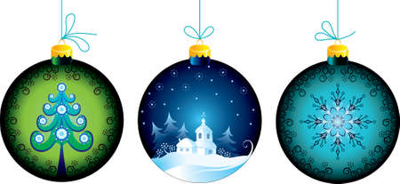 Christmas balls Stock Vector - 10360053