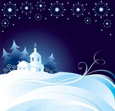 Weihnachtsnacht Hintergrund