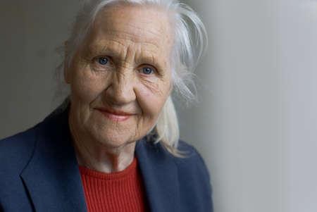 octogenarian: Elderly lady