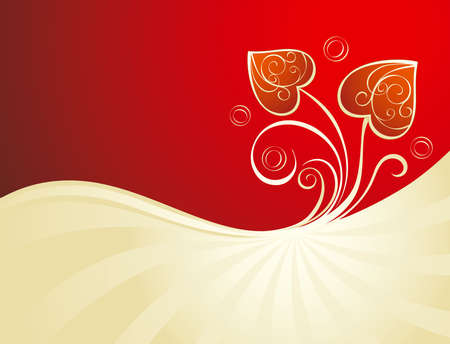 Decorative Valentine Vector