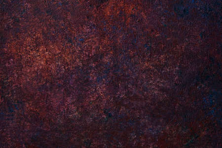 ferruginous: Abstract brown paint texture background Stock Photo