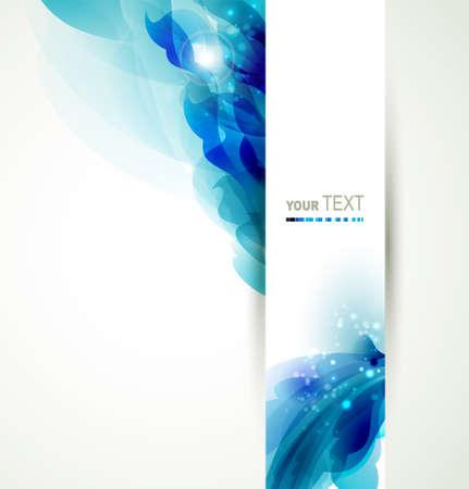 Abstrakter Hintergrund mit blauen Elementen