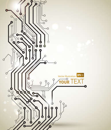 electronic circuit board: Abstract background of modern digital technologies