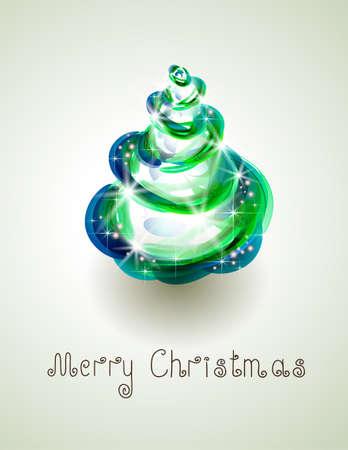 abstract Christmas tree Stock Vector - 14579966