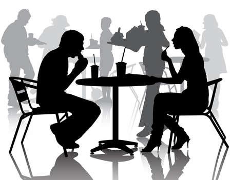 ätande: Street Café