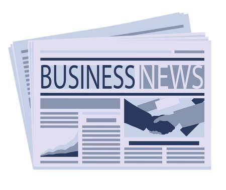 business newspaper Stock Vector - 15365530
