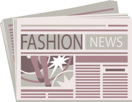Fashion Newspaper  Stock Vector - 15365529