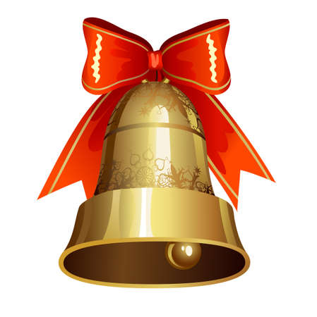 Christmas decoration with ringing bell