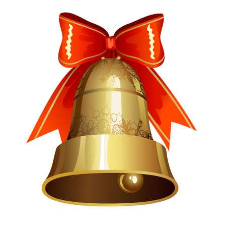 campanas de navidad: Decoración de Navidad con campana
