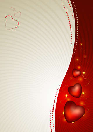 greetingcard: greeting-card with The Valentine s day