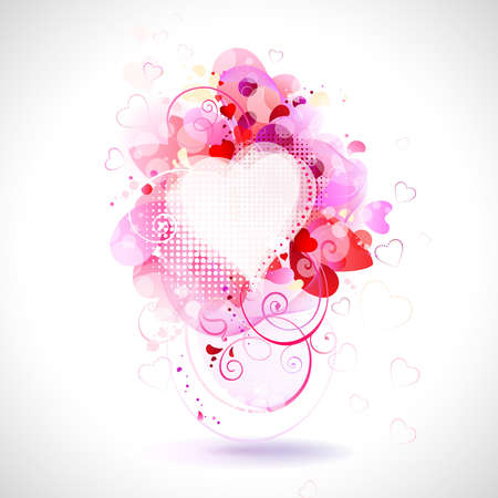 greeting-card with The Valentine s day