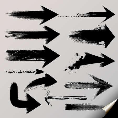 flecha derecha: Un conjunto de vectores de flechas útiles