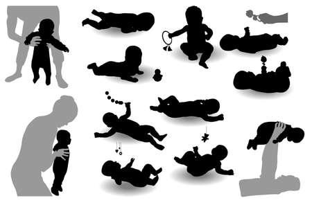 протяжение: Двенадцать ребенка с изображениями