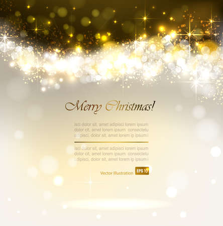 christmas invitation: Bright Christmas background