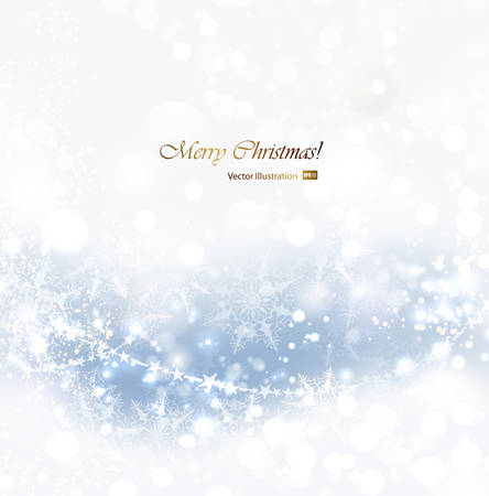 soft background: Christmas abstract soft background with snowflakes