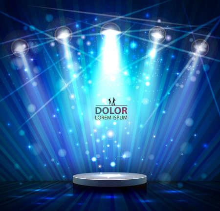 spotlight: spotlight effect scene background
