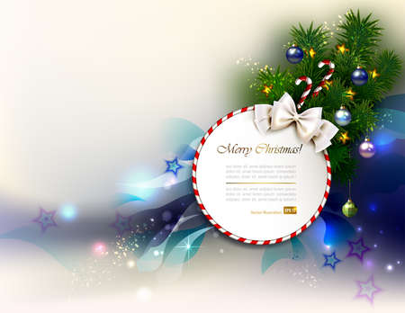 holiday background: holiday background with Christmas baubles