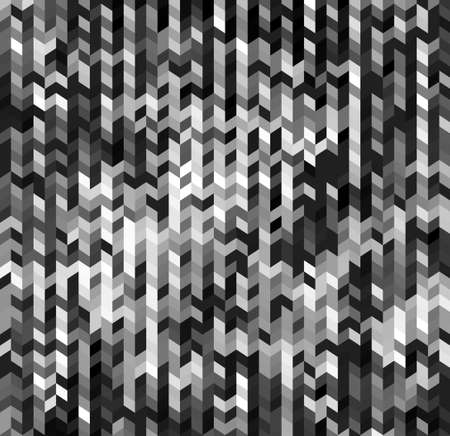 Abstract motley texture shades of gray background with rhombus. 向量圖像