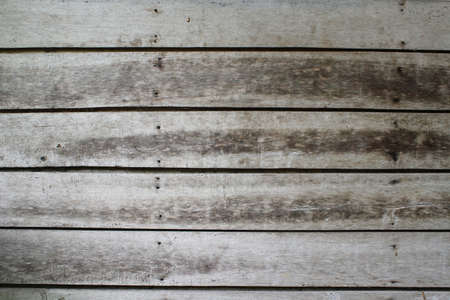 Old wooden background with horizontal motif. Wall or floor made of wooden planks.