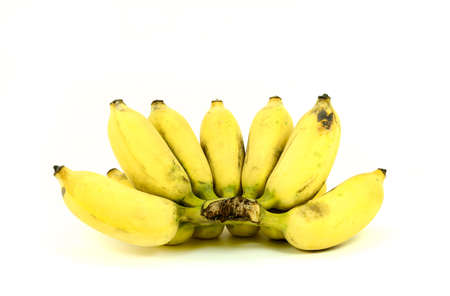 cultivated: Ripe cultivated banana Stock Photo