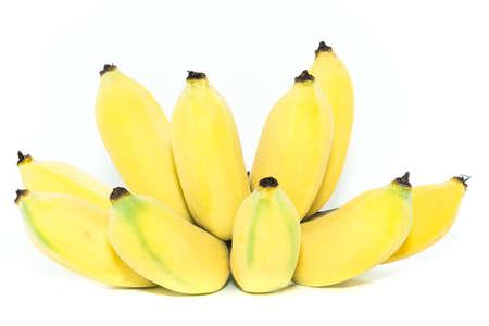Ripe cultivated banana Stock Photo