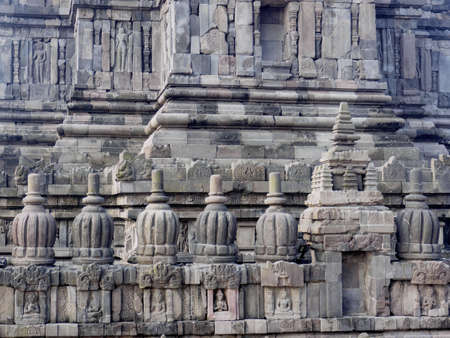 Prambanan temple, the 9th-century Hindu temple compound in Central Java, Indonesia and is also a UNESCO world heritage site.