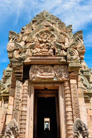 Prasat Phanom Rung Historical Park, a Khmer-style temple complex built in the 10th -13th century.