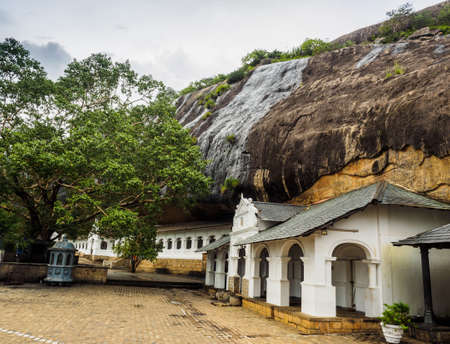 Dambulla Cave Temple, the cave temple of Sri Lanka at Dambulla city, Sri Lanka
