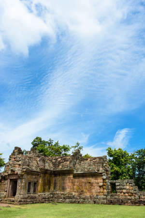 Part of Prasat Phanom Rung Historical Park, a Khmer-style temple complex built in the 10th -13th century.