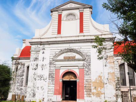 The church of Wolvendaal in Colombo, Sri Lanka, it was built by the Dutch Reformed church in 1749, during period of Dutch occupation.