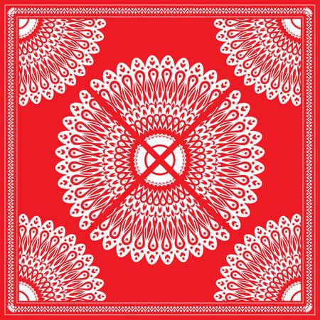 red bandana: red bandana