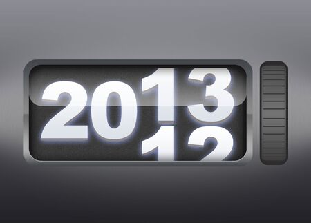 Happy New year 2013 counter photo