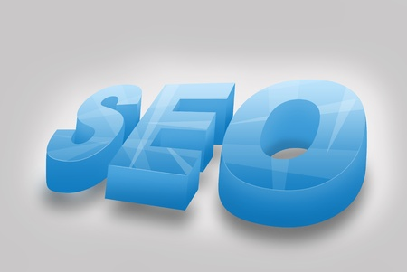 SEO dimensional lettering photo