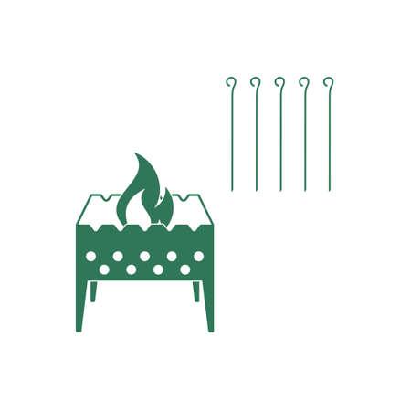 Brazier icône. Vector illustration