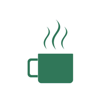unbreakable: Camping cup vector icon. Tourist mug isolated. Website and application pictogram. Illustration