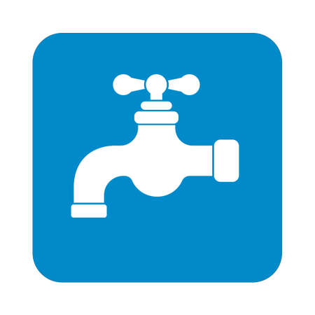 water tap: Water tap icon. Vector illustration