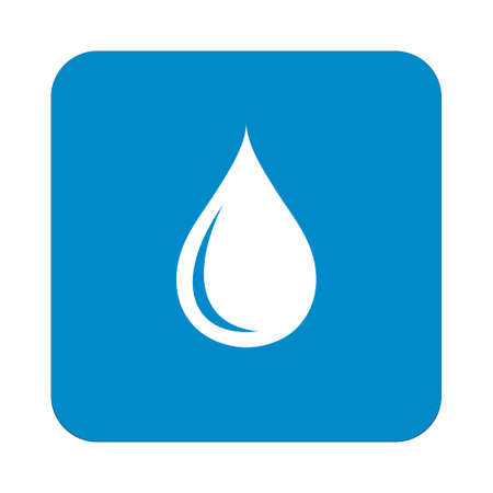 economize: Water drop icon. Vector illustration Illustration