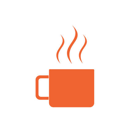 unbreakable: Camping cup vector icon. Tourist mug isolated.