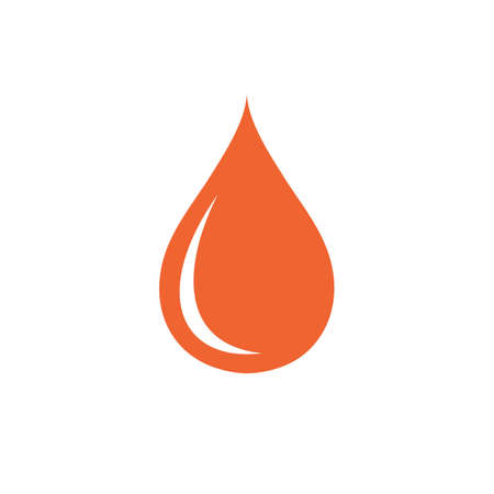 trickle: Water drop icon. Vector illustration Illustration