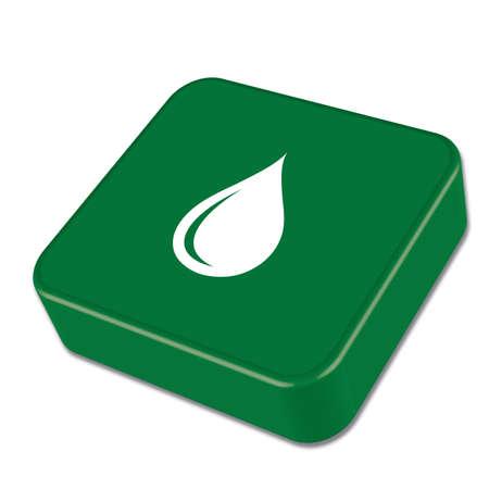 Water drop icon. Vector illustration Illustration