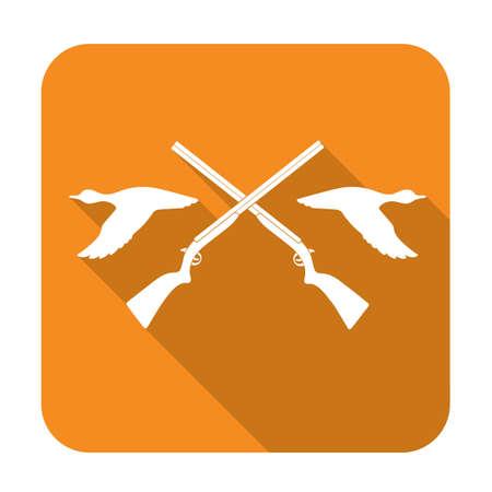 Hunting club logo icon. Vector illustration