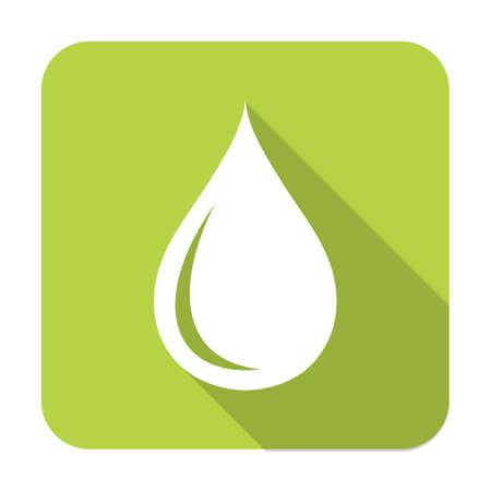 run off: Water drop icon. Vector illustration Illustration