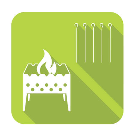 Brazier icon. Vector illustration