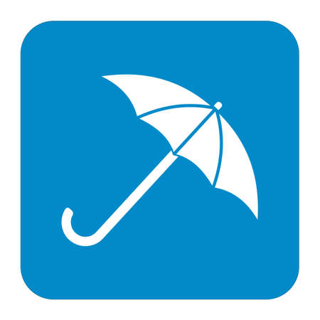 Umbrella sketch icon for web, mobile and infographics.