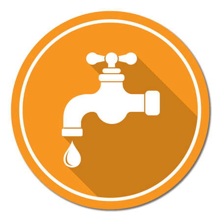trickle: Water tap icon.